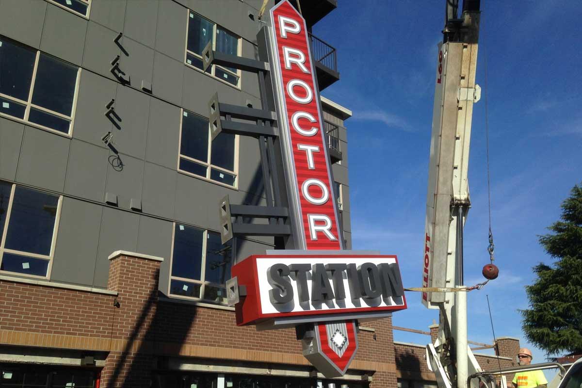 Proctor Station Install