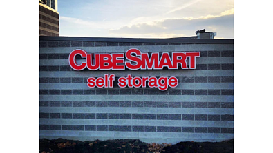 Cube Smart Channel Letter Sign