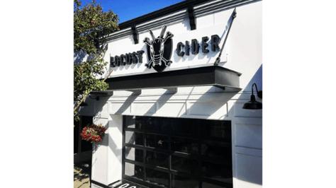 Locust Cider Channel Letter Sign