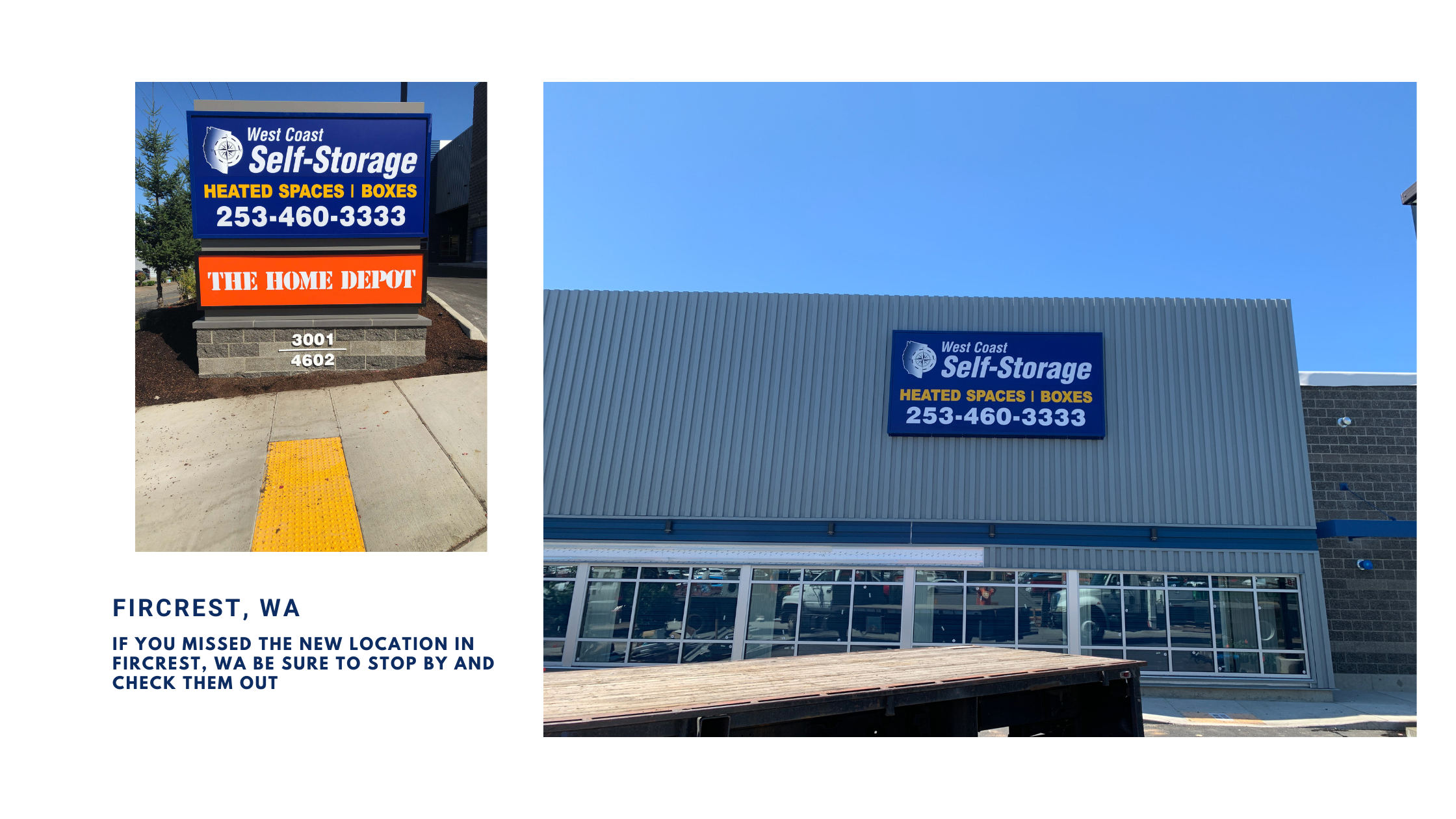 West Coast Self Storage Fircrest WA